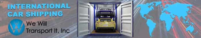 International Car Shipping, International Car Transport